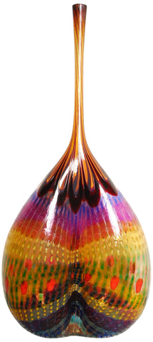 Stephen Rolfe Powell (American, b. 1951), Glass Murrine Large Vessel, 2000, signed and dated