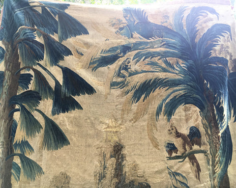 Louis XV Chinoiserie Landscape Tapestry, Aubusson, 2nd quarter 18th century