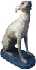 Edwardian Polychrome Cast Iron Whippet, early 20th century