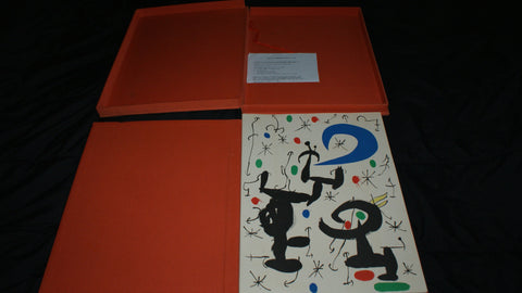 "Joan Miró (Spanish, 1893-1983), ""Les Essències de la Terra per Miró"", 1968, portfolio of thirteen offset lithographs printed in colors or in black (Cramer books 123)"