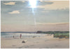 Edmond Fitzgerald (American, 1912 - 1989), Parson's Beach, watercolor on arches paper, signed