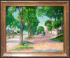 Alexander Warshawsky (American, 1887-1945), Afternoon Stroll, oil on canvas, signed