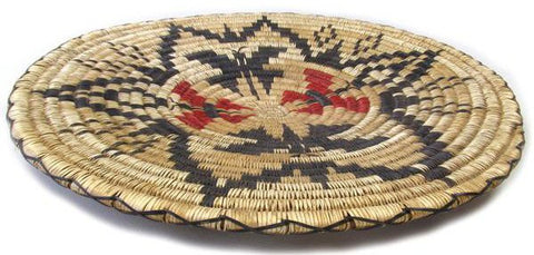 Navajo Basket with Butterflies, Mary Holiday Black, ca. 1970