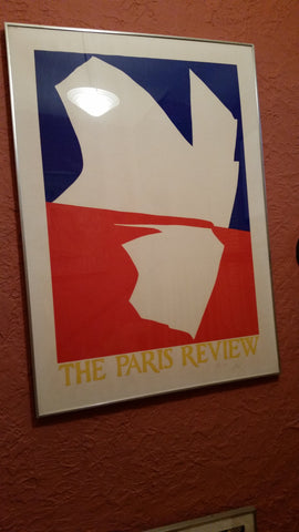 Jack Youngerman (American, b. 1926), The Paris Review, 1966, screenprint in colors, signed. ed. 150