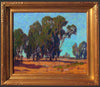 Paul Lauritz (American, 1889-1975), Southland Trees, oil on canvas, signed