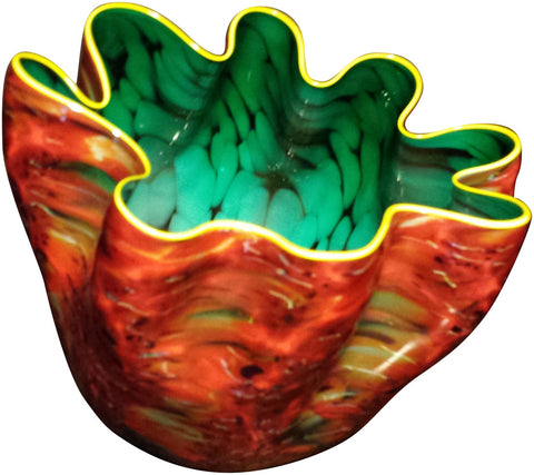 Dale Chihuly (American, b. 1941), Firefly Macchia for Portland Press, Studio Edition, 2008, signed and dated