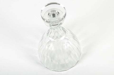 French Cut Crystal Decanter, manufactured by Baccarat, 1950s