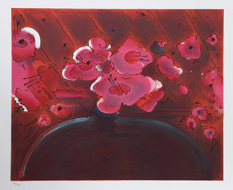 Peter Max (American, b. 1937), Marilyn's Flowers II, 1981, lithograph on paper, signed, ed. 165