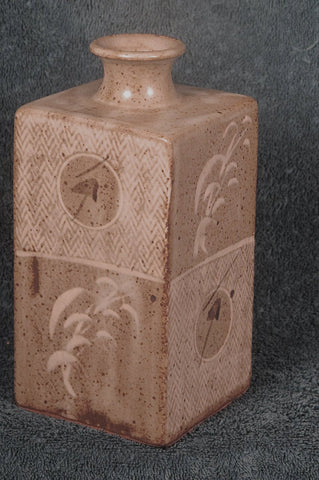 Stoneware Bottle Vase, Shimaoka Tatsuzō (Japanese, 1919-2007), 20th century