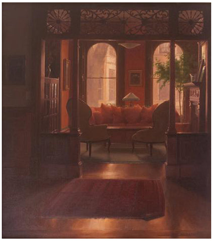 Jacob Collins (American, b. 1964), Living Room Interior, 2000, oil on canvas