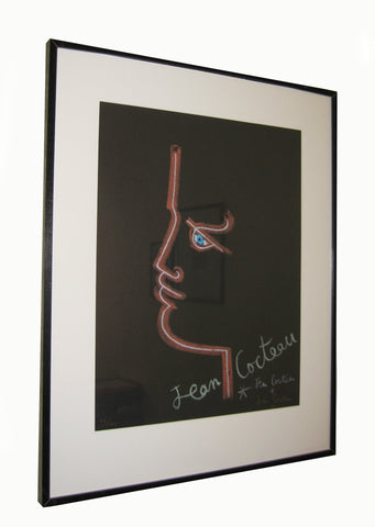 Jean Cocteau (French, 1889-1963), Le Trait de Feu, 1958, lithograph in colors, signed, ed. 100