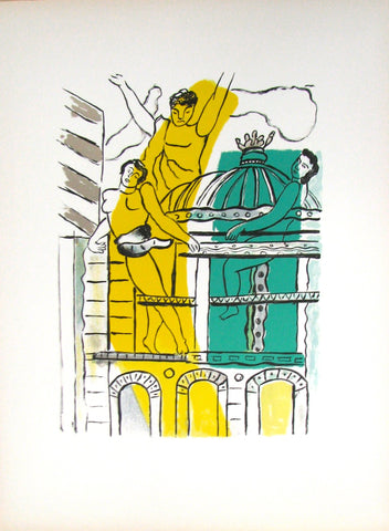 "After Fernand Léger (French, 1881-1955), ""L'Opera, La Ville"", 1959, lithograph, ed. 180"