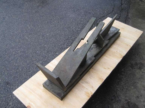 Gunther Gerzso (Mexican, 1915-2000), Untitled, bronze, signed