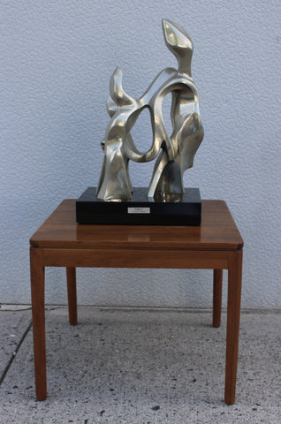Seymour W. Meyer (American, 1914-2009), Family, ca. 1970s, bronze sculpture, signed, ed. 9
