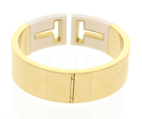 Pair of 18K Yellow Gold 'Tiffany T' Collection Bangle, Tiffany & Co.