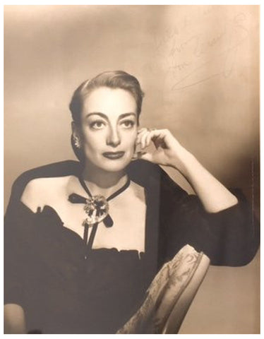 Photograph of Joan Crawford, ca. 1950