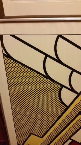 "Roy Lichtenstein (American, 1923-1997), ""Salute to Aviation"", 1968 (Corlett 63)"