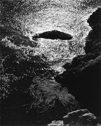 "Edward Weston, (American, 1886-1958), ""China Cove, Point Lobos"", silver print, taken 1940, printed later by Cole Weston (American, 1919-2003)"