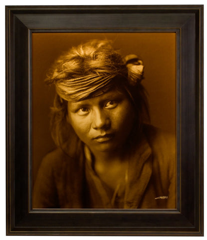 "Edward S. Curtis (American, 1868-1952), ""A Son of the Desert"", taken 1904, printed 2008, contemporary goldtone/orotone"