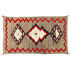 Antique Navajo Hand­-Woven Red Mesa Ranch Rug, ca. 1910, 7 ft. 4 in. x 4 ft. 9 in.