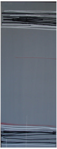 Larry Zox (American, 1936-2006), Untitled (Gray), ca. 1983, acrylic on canvas
