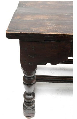 Late 17th Century English Jacobean Library Table