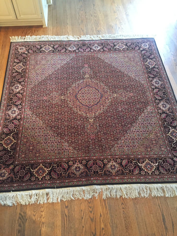 Persian-style Rug, contemporary, 6 ft. 5 in. x 7 ft. 3 in.