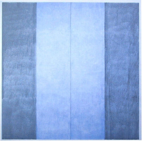 "After Agnes Martin (American, 1912-2004), ""Untitled #1,"" from ""Recent Paintings"", 2003, offset lithograph on vellum"