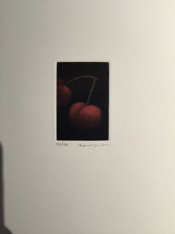 Yozo Hamaguchi (Japanese, 1909-2000), One and One-Half, 1993, mezzotint, signed
