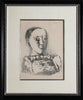 "Pablo Picasso (Spanish, 1881-1973), ""Le Chandail Brode"", 1953, lithograph on Arches, signed, ed. 50"