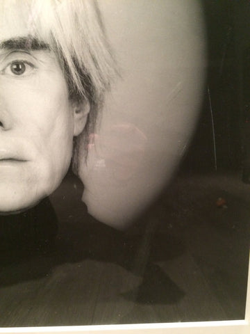 "Robert Mapplethorpe (American, 1946-1989), ""Andy Warhol"", 1986, silver gelatin print, signed and stamped, ed. 10"