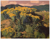 "Robert Daughters (American, 1929-2013), ""Chamisa Valley"", oil on canvas, signed"