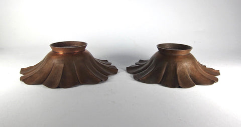 Two American Arts and Crafts Copper Bowls, Marie Zimmermann (1879-1972), ca. 1910-1920