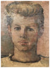 Maurice Grosser (American, 1903-1986), Portrait of a Young Man, 1948, oil on canvas, signed