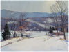 "Charles Gordon Harris (American, 1891-1963), ""Stowe, Vermont"", oil on canvas, signed"
