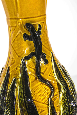 Continental Ceramic Glazed Vase, late 19th century/early 20th century