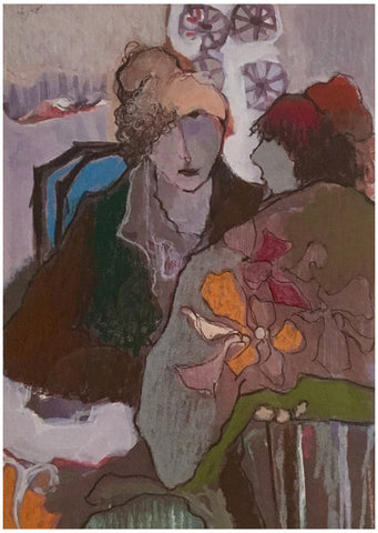 Itzchak Tarkay (Israeli, 1935-2012), Untitled, lithograph in colors, signed