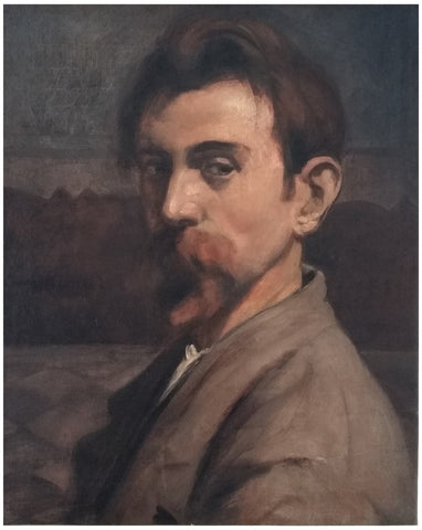 Émile Bernard (French, 1868-1941), Autoportrait, 1899, oil on canvas, signed and dated