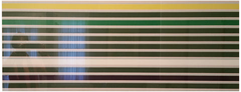 "Kenneth Noland (American, 1924-2010), ""Shadow Line"", 1968, screenprint in colors on linen"