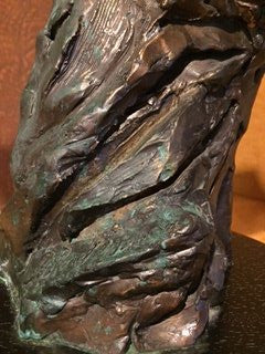 "Leroy Neiman (American, 1921-2012), ""Vigilant"", patinated bronze animalier sculpture, 1987, signed and dated, ed. 350"