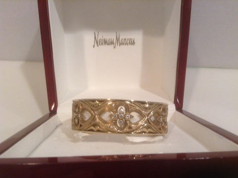 18K Yellow Gold Diamond Bracelet, designed by Loree Rodkin, 20th century