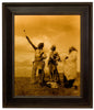 "Edward S. Curtis (American, 1868-1952), ""The Oath"", taken 1908, printed 2008, contemporary goldtone/orotone"
