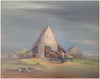 Charles Henry Reinike (American, 1906-1983), Farm Scene, oil on canvas, signed