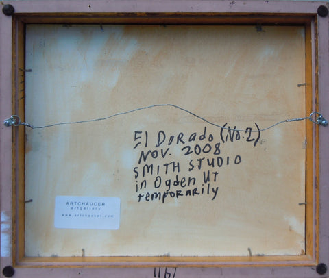 "Steve Smith (American), ""El Dorado (No. 2)"", 2008, oil on panel"