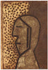 Rufino Tamayo (Mexican, 1899-1991), Perfil (Profile), 1977, mixograph in colors, signed and numbered, ed. 100