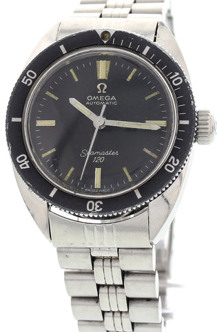 Vintage Omega Seamaster 120 Stainless Steel Watch 565.007