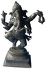 Patinated Bronze Figure of Ganesha, ca. 19th century