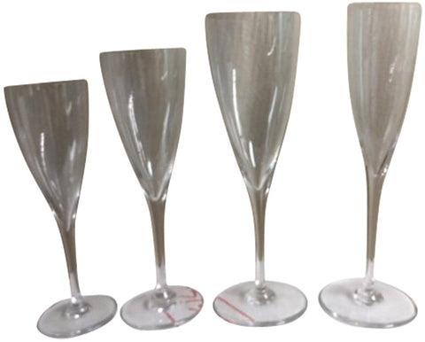 Baccarat Crystal Stemware Service, France, 20th century, in the Dom Perignon pattern