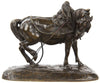 After Jean-François Gechter (French, 1796-1844), Sculpture of Horse, patinated bronze, ca. 1840