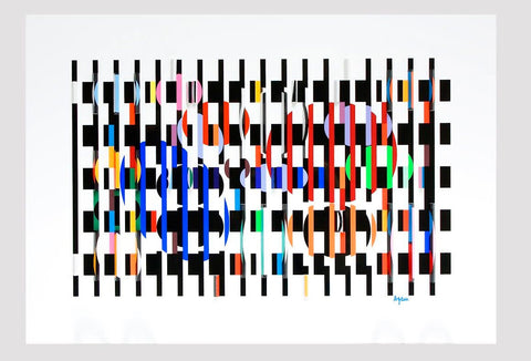Yaacov Agam (Israeli, b. 1928), Untitled, polymorph, signed and numbered